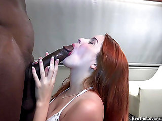 Hot Little Redhead Wench Is A True Darksome Pecker Floozy fearsomemenacing RECENT HD Porn Episodes
