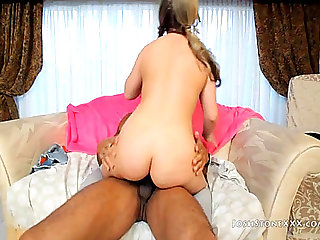 PAWG CARMEN VALENTINE IS A FAN OF THE LARGE DARKSOME ROD HD Porn Vids