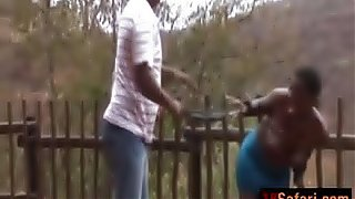 Safari African Whores Tied Up Whipped Penetrated In A Very Rough Hardcore Outdoor Interracial Gang Fuck