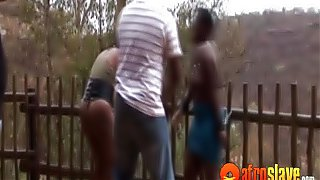 African sex babe getting punished