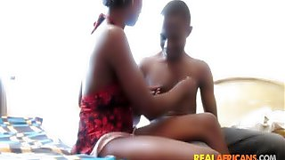 Fucking My African Girlfriend Doggystyle