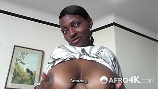 African Slut Fucked Doggystyle